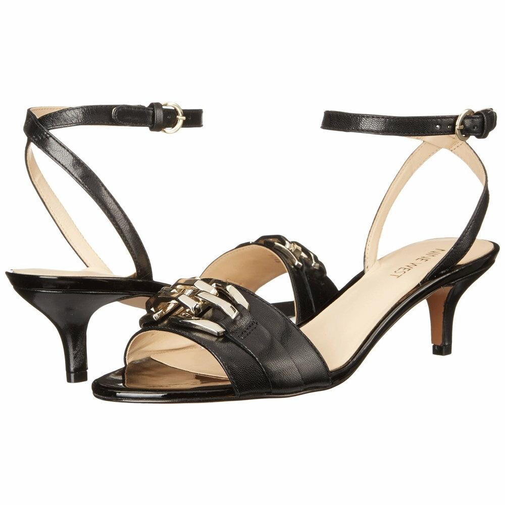 ナインウェスト レディース シューズ・靴 ヒール【Yellitout】Black Leather