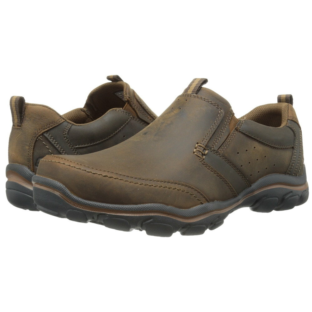 スケッチャーズ メンズ シューズ・靴 革靴・ビジネスシューズ【Relaxed Fit Montz - Devent】Dark Brown