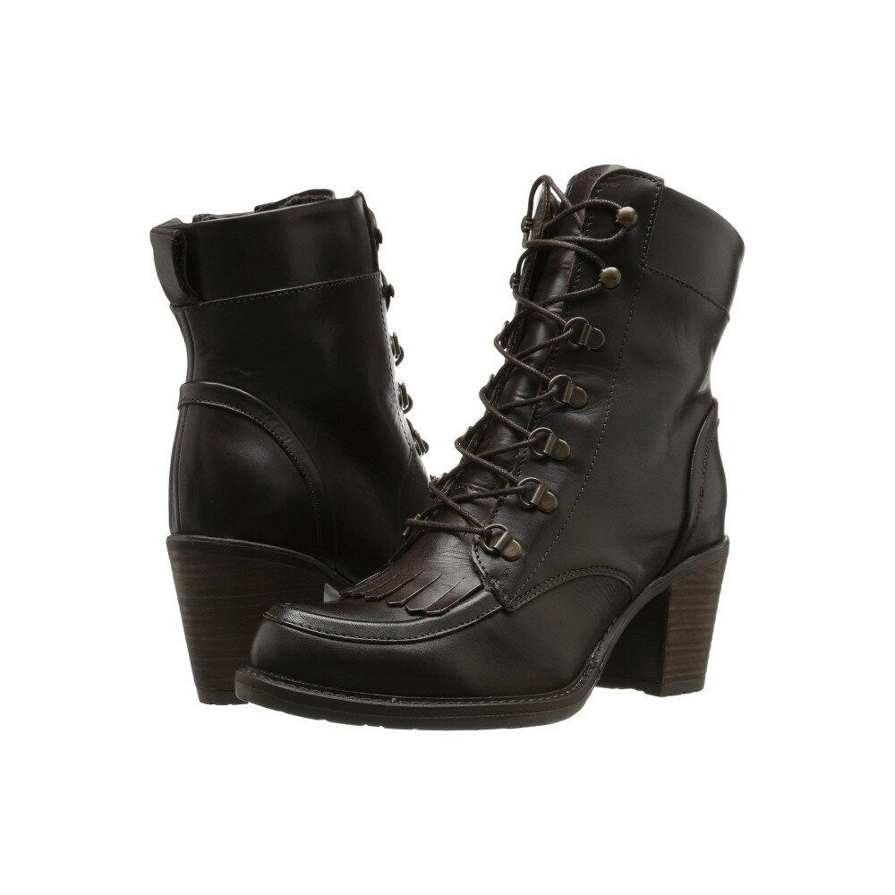 エリック マイケル レディース シューズ・靴 ブーツ【Oregon】Brown