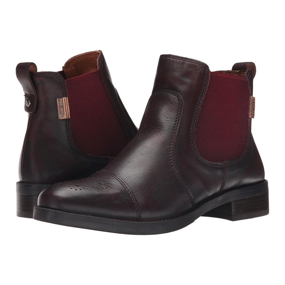 ピコリノス Pikolinos レディース シューズ・靴 ブーツ【Stratford W1D-8565AA】Garnet