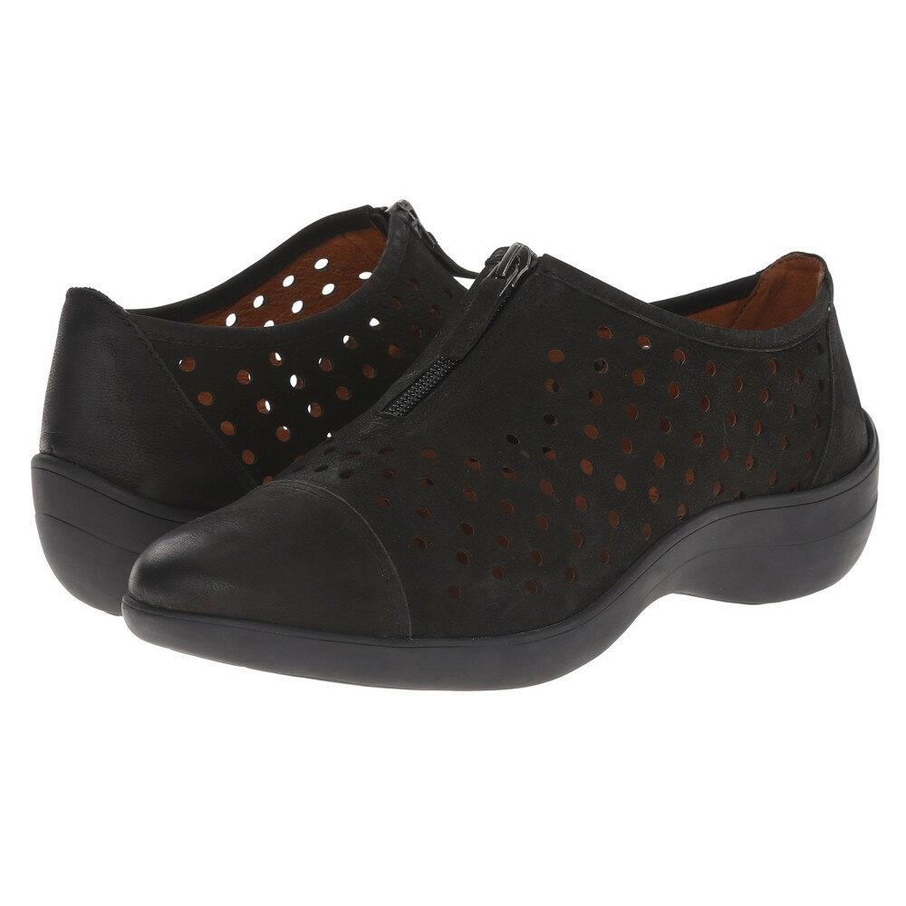 ジェントルソウル Gentle Souls レディース シューズ・靴 フラット【Austin】Black Nubuck