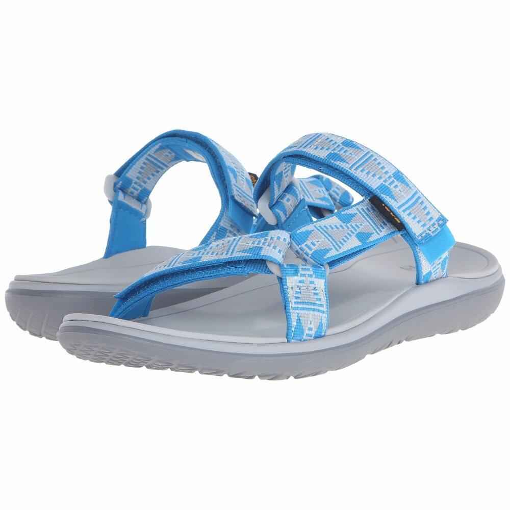 テバ レディース シューズ・靴 サンダル・ミュール【Terra-Float Lexi】Mosaic Grey/Blue