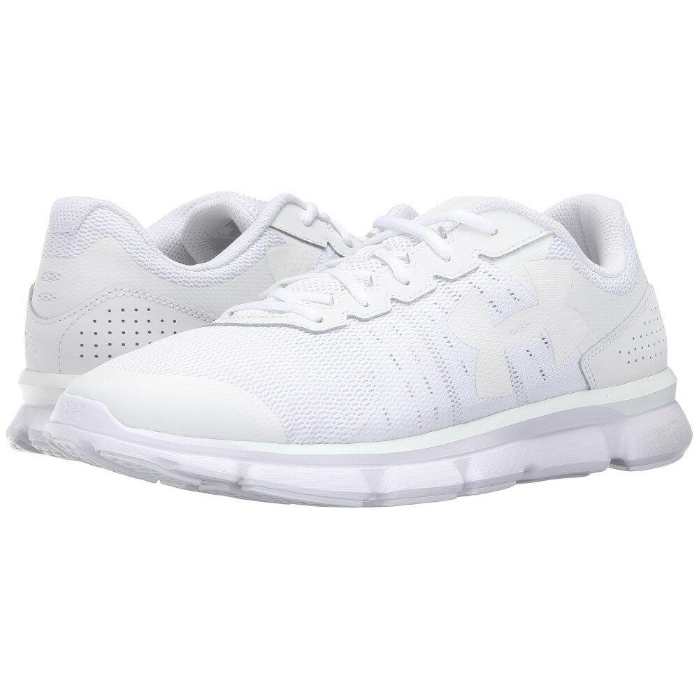 アンダーアーマー メンズ シューズ・靴 スニーカー【UA Micro G Speed Swift】White/White/White