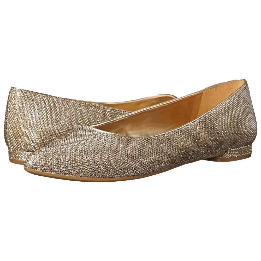 ナインウェスト Nine West レディース シューズ・靴 フラット【Oleena】Gold Fabric