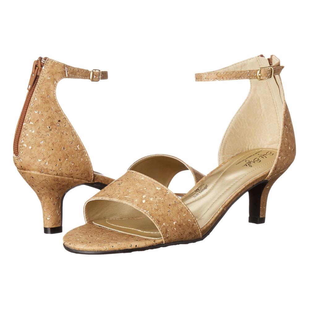 ソフトスタイル Soft Style レディース シューズ・靴 パンプス【Madalyn】Cork Metallic
