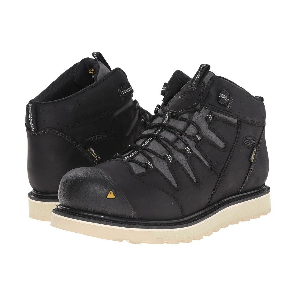 キーン Keen Utility メンズ シューズ・靴 ブーツ【Glendale Wedge Waterproof Soft Toe】Black