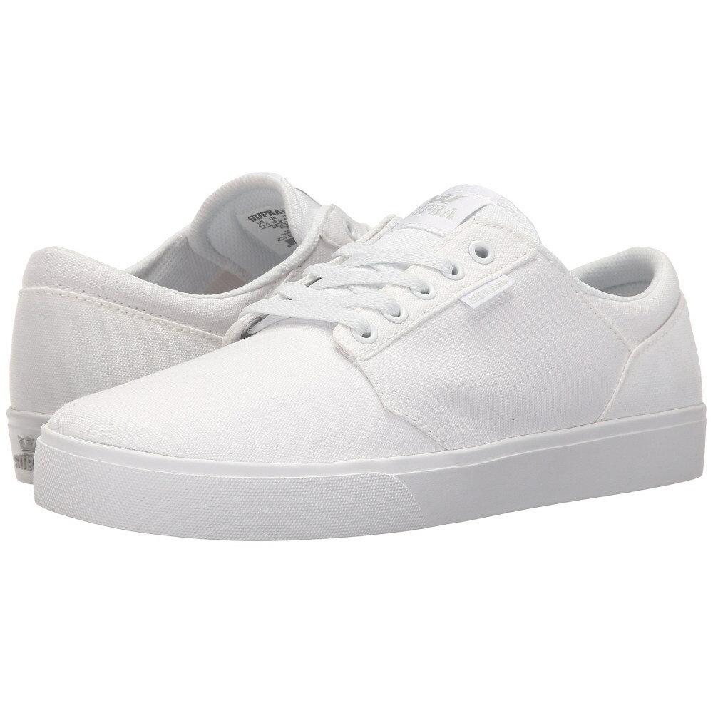 スープラ メンズ シューズ・靴 スニーカー【Yorek Low】White/White