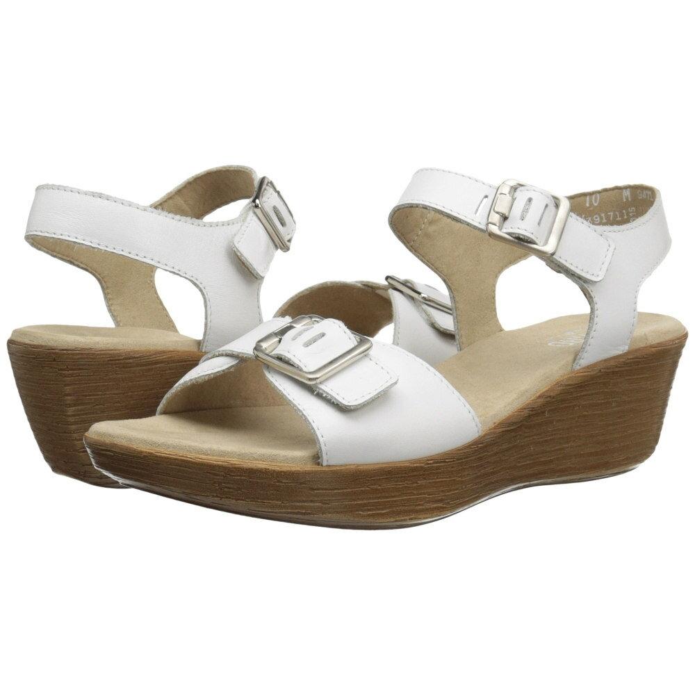 マンロー レディース シューズ・靴 サンダル・ミュール【Marci】White Leather