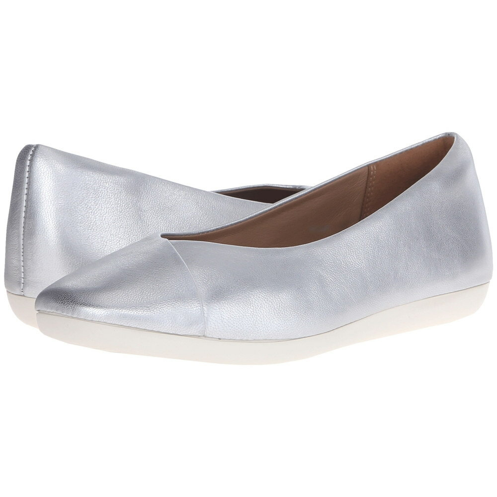 クラークス Clarks レディース シューズ・靴 フラット【Feature Fest】Silver Leather