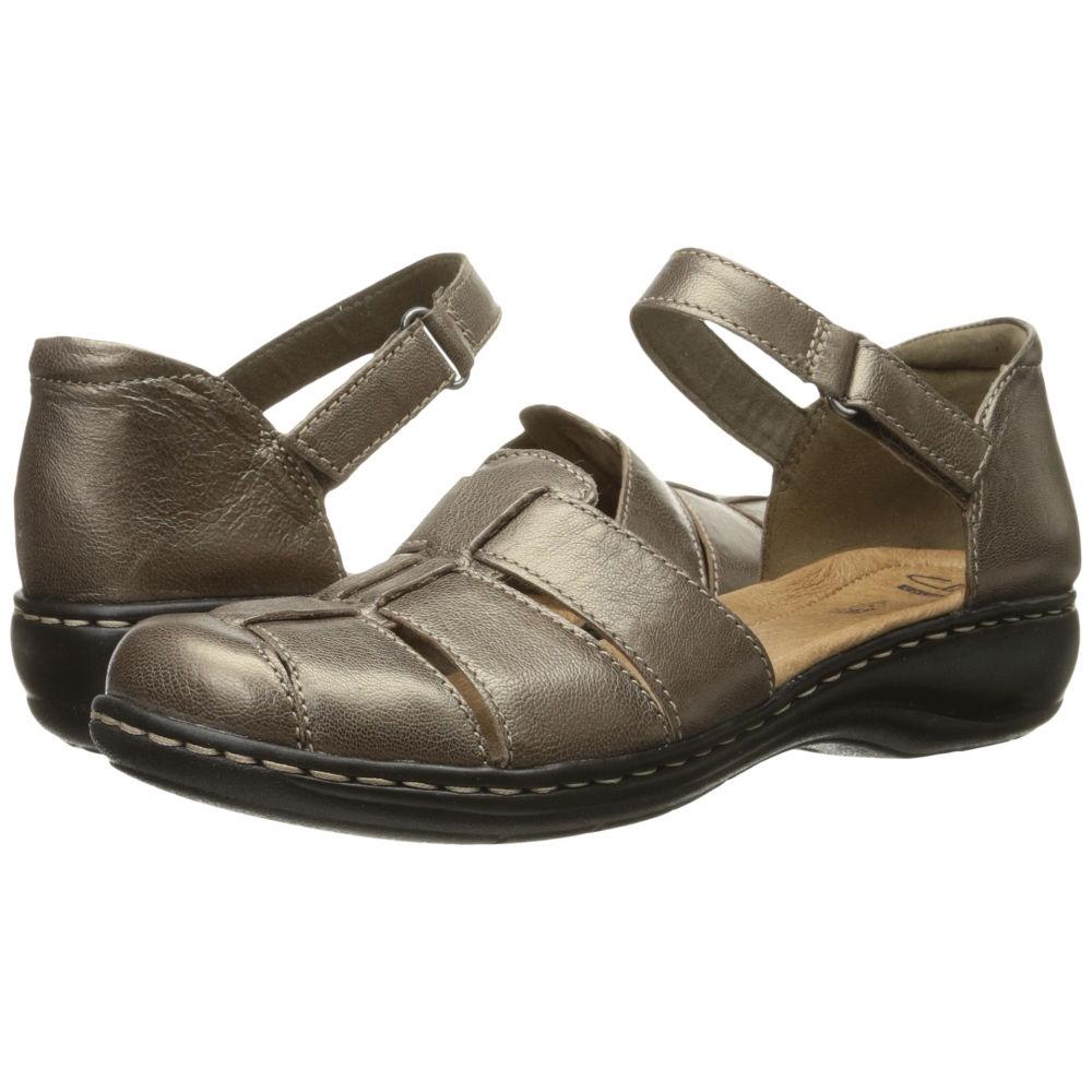 クラークス Clarks レディース シューズ・靴 サンダル【Leisa Wave】Pewter Leather