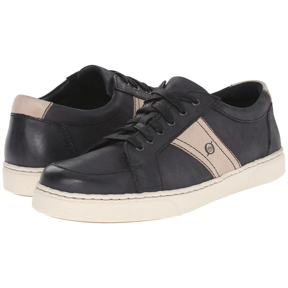 ボーン Born メンズ シューズ?靴 スニーカー【Baum】Black/Taupe Full Grain Leather