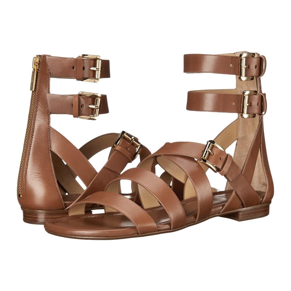 マイケル コース MICHAEL Michael Kors レディース シューズ・靴 サンダル【Jocelyn Flat Sandal】Luggage Vachetta