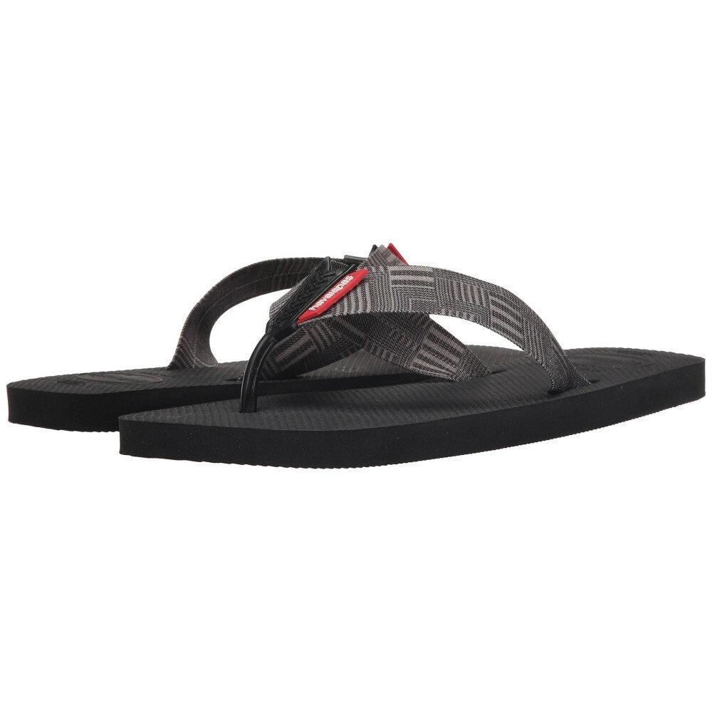 ハワイアナス メンズ シューズ・靴 ビーチサンダル【Urban Series Flip Flops】Black