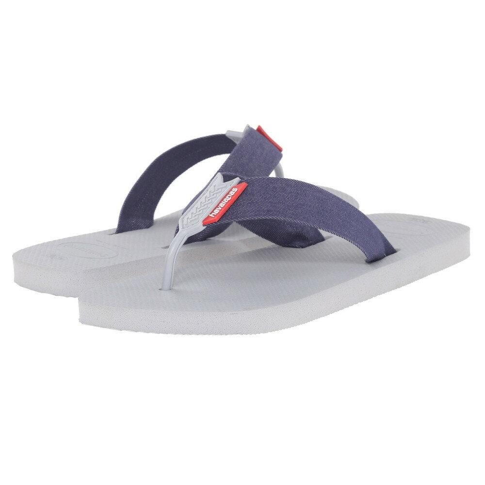 ハワイアナス メンズ シューズ・靴 ビーチサンダル【Urban Series Flip Flops】Ice Grey