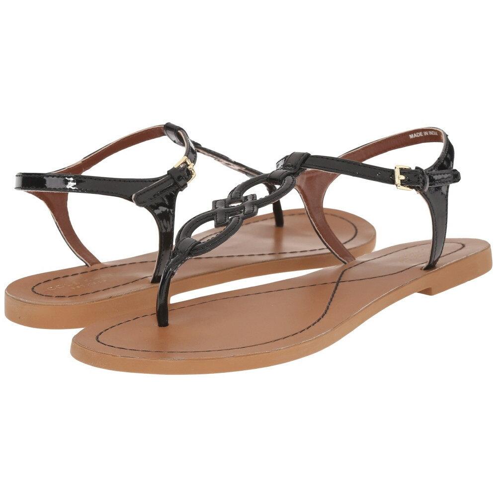 コールハーン Cole Haan レディース シューズ・靴 サンダル【Iris Sandal】Black Patent/Ecru