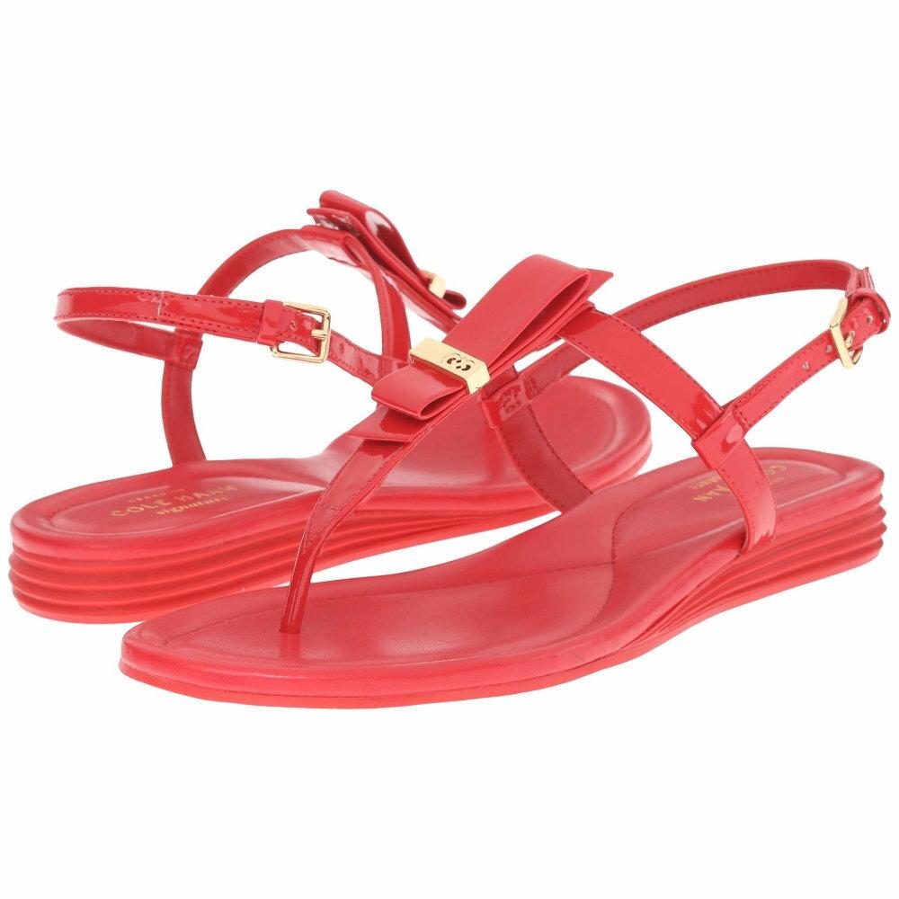 コールハーン Cole Haan レディース シューズ・靴 サンダル【Marnie Sandal】True Red Patent