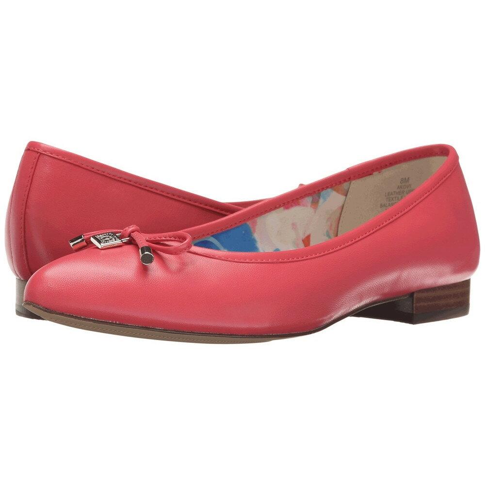 アン クライン レディース シューズ・靴 スリッポン・フラット【Ovi】Sorbet Pink Leather