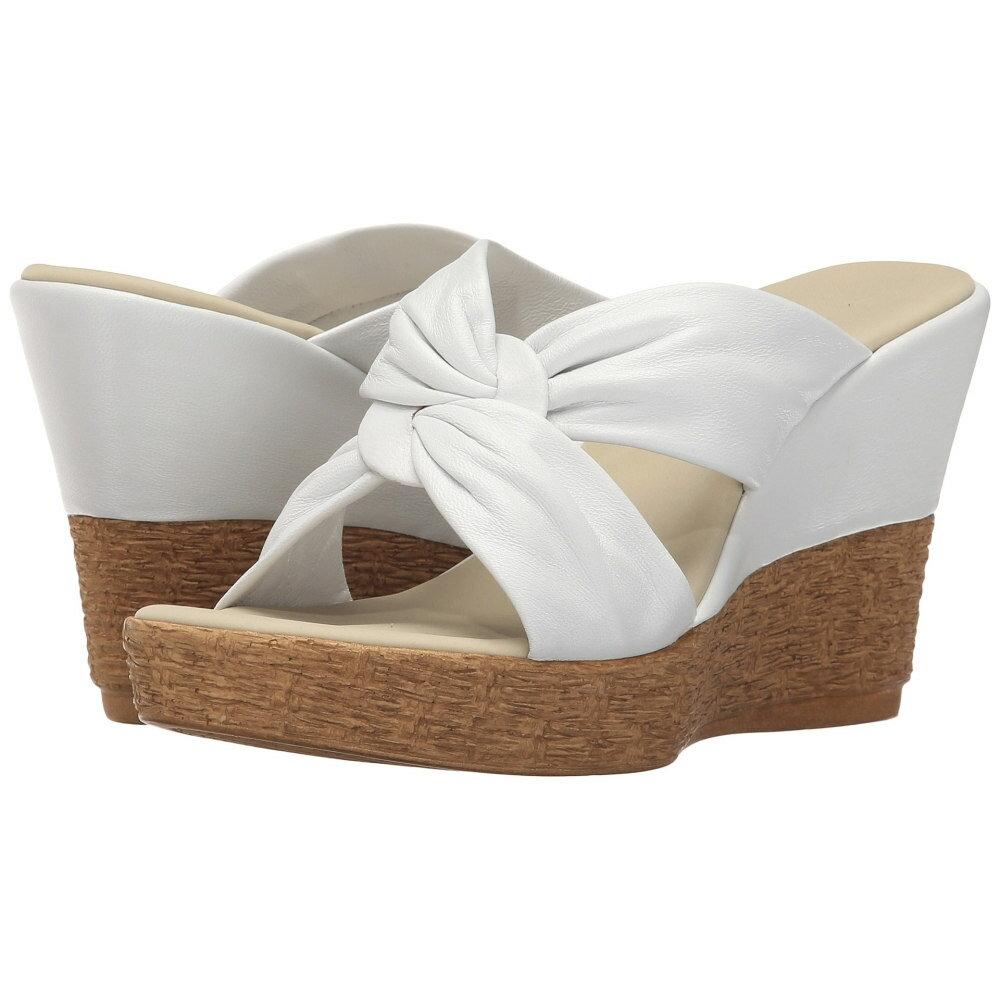 オネックス レディース シューズ・靴 サンダル・ミュール【Pretti】White