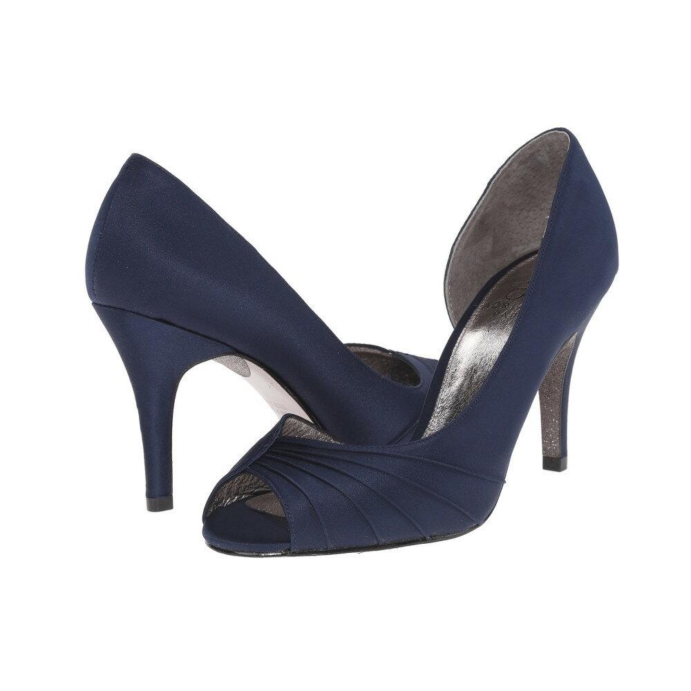 アドリアナ パペル Adrianna Papell レディース シューズ・靴 パンプス【Flynn】Navy Classic Satin