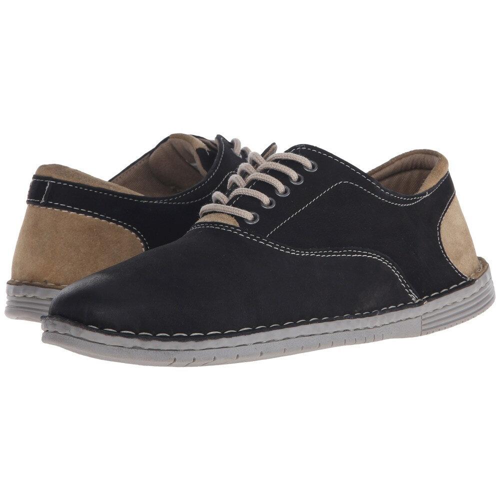 スティーブ マデン メンズ シューズ・靴 スニーカー【Rothman】Black Leather