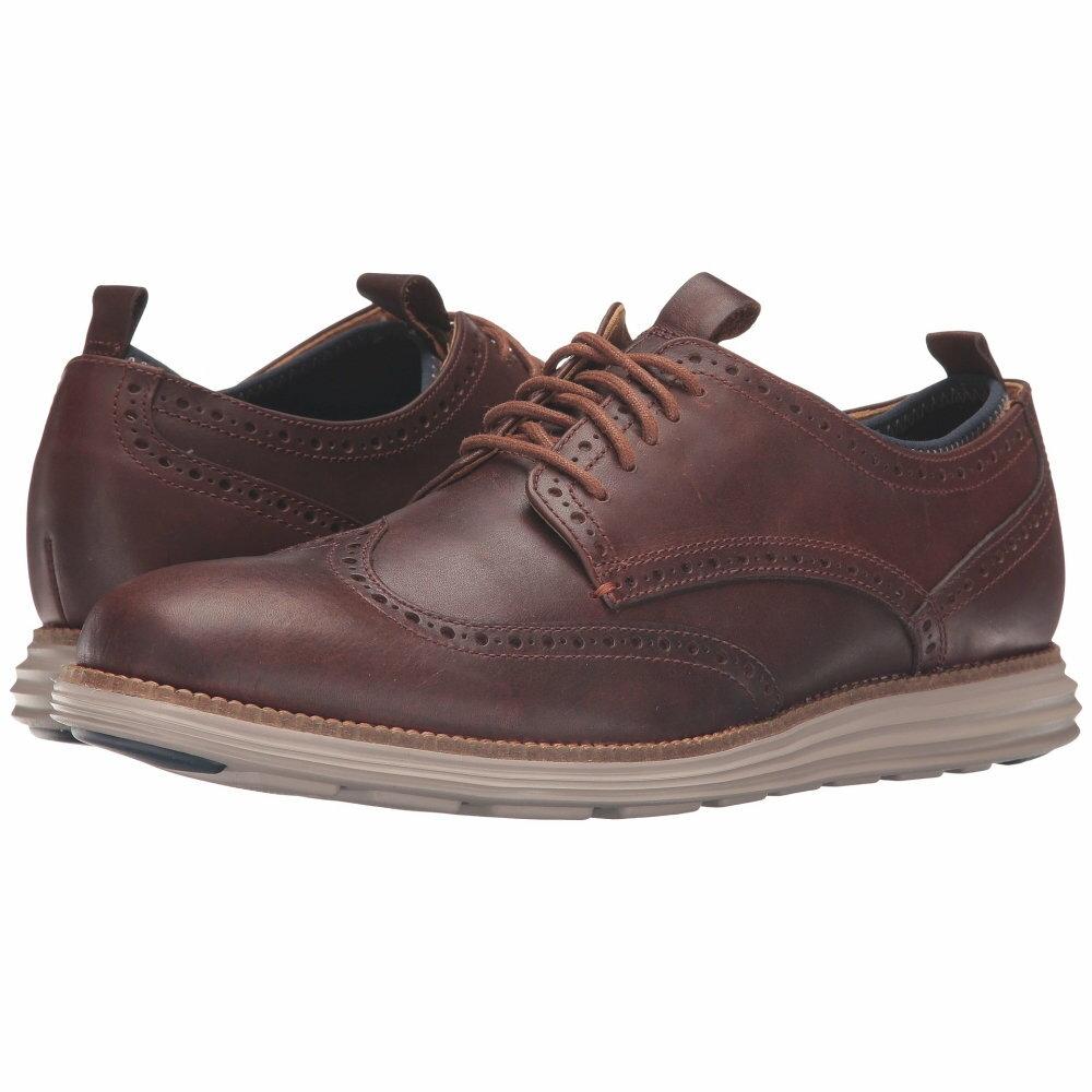 コールハーン Cole Haan メンズ シューズ・靴 オックスフォード【Original Grand Neoprene Lined Wing Oxford】Harvest Brown/Cobblestone Knit/Cobblestone