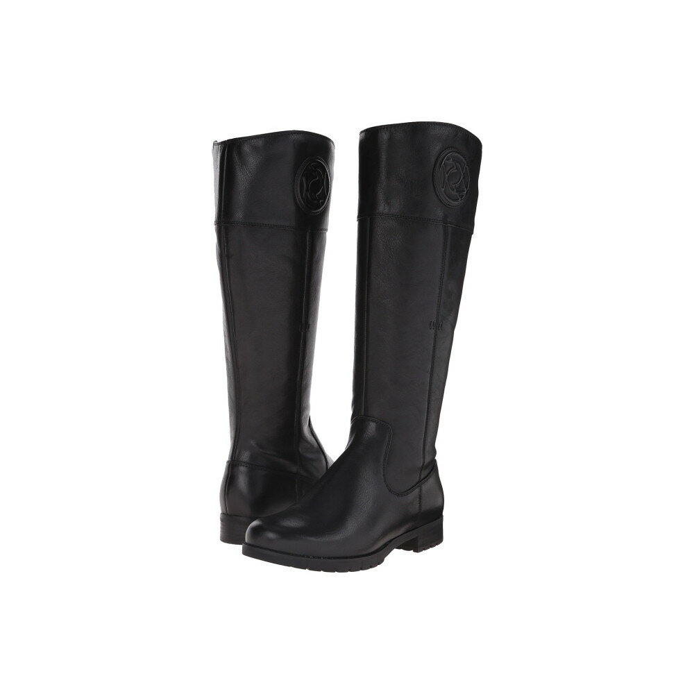 ロックポート Rockport レディース シューズ・靴 ブーツ【Tristina Rosette Tall Boot - Wide Calf】Black Cas Leather WL WC