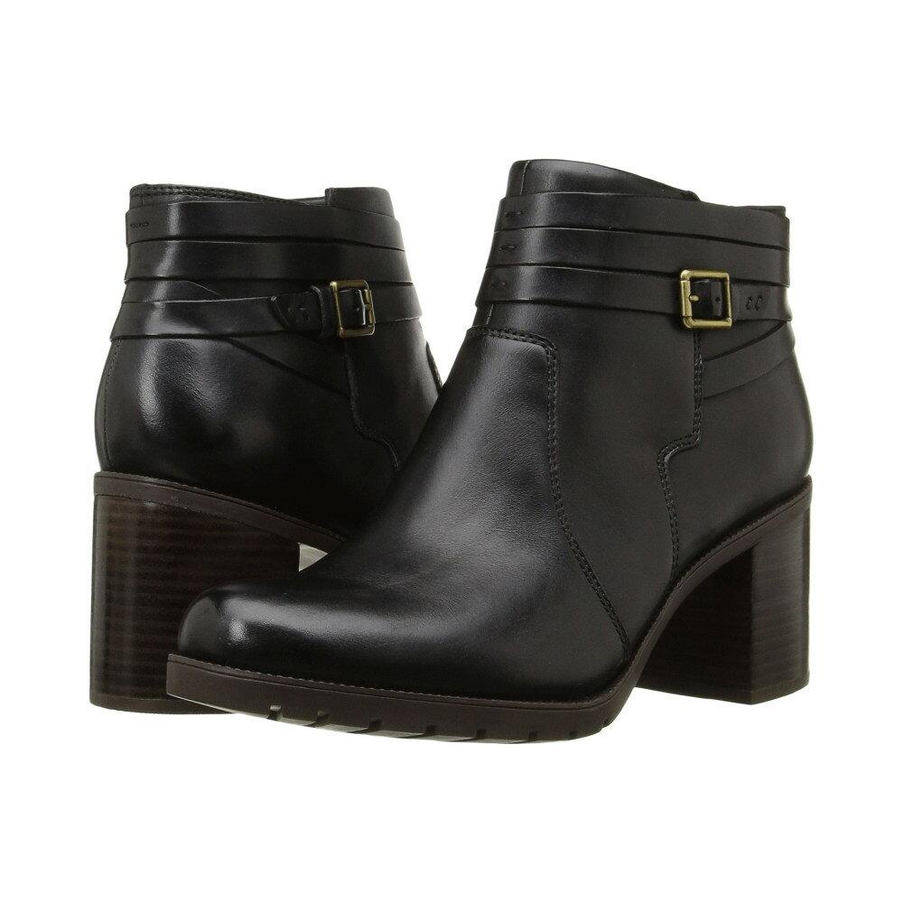 クラークス レディース シューズ・靴 ブーツ【Malvet Maria】Black Leather