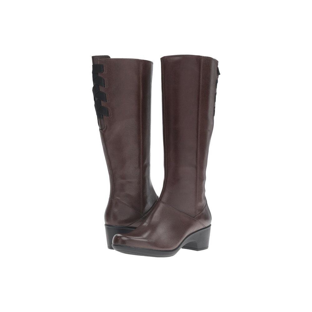 クラークス Clarks レディース シューズ・靴 ブーツ【Malia Skylar】Dark Brown Leather