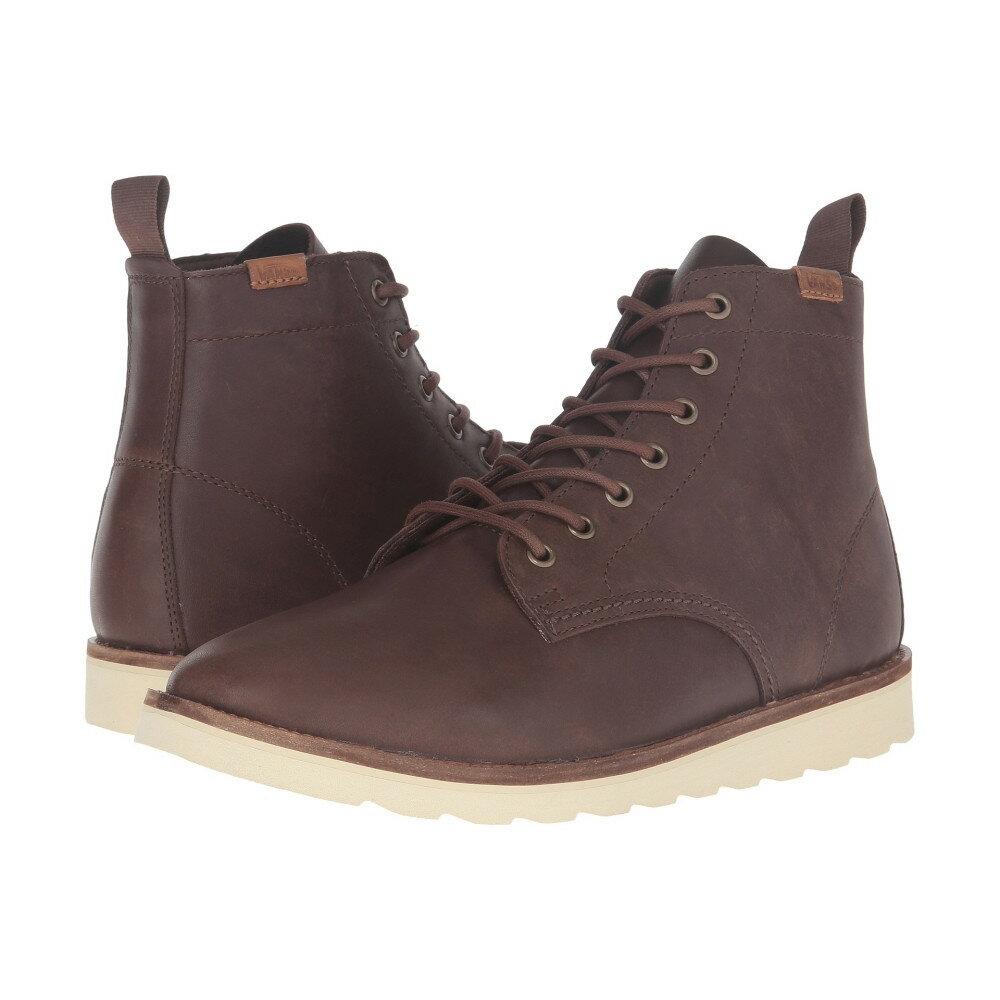 ヴァンズ Vans メンズ シューズ・靴 ブーツ【Sahara Boot】Brown Leather