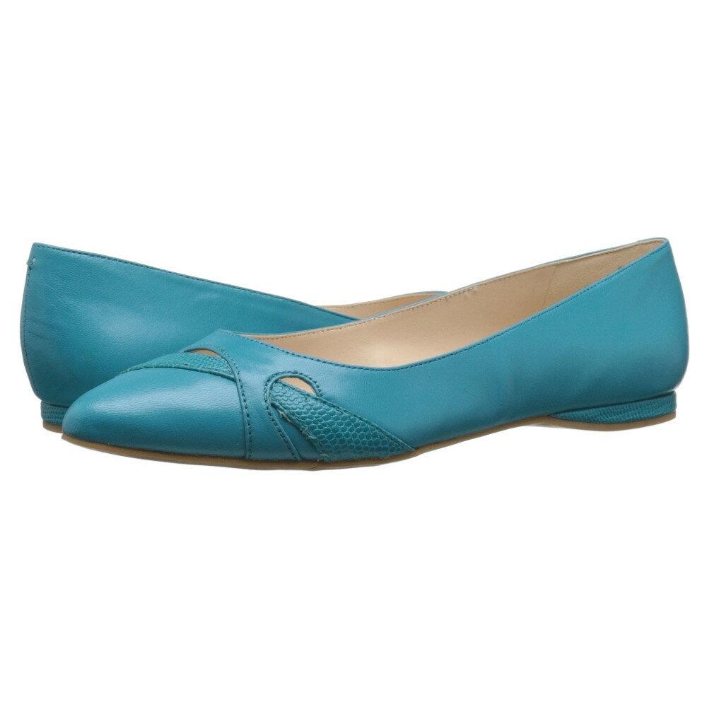 ナインウェスト Nine West レディース シューズ・靴 フラット【Seeya】Turquoise/Turquoise Leather