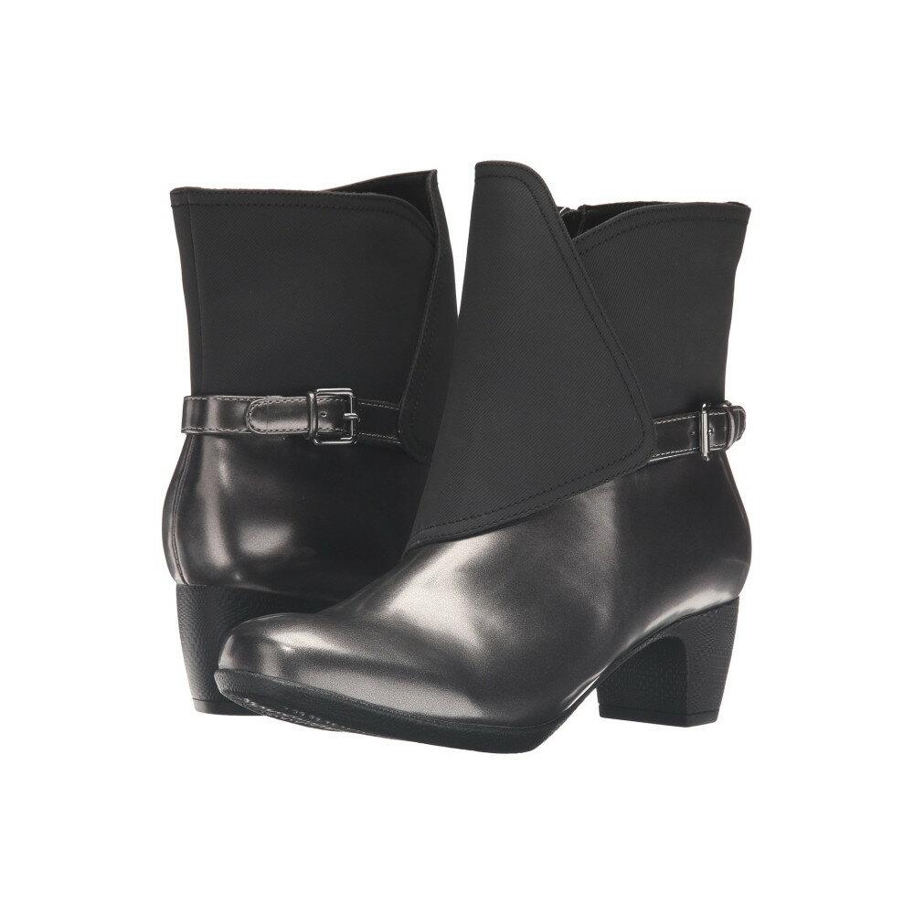 トロッターズ レディース シューズ・靴 ブーツ【Stormy】Graphite/Black Box Leather