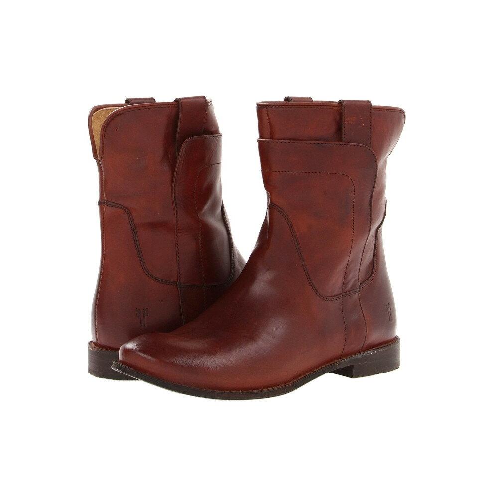 フライ レディース シューズ・靴 ブーツ【Paige Short Riding】Redwood Smooth Vintage Leather