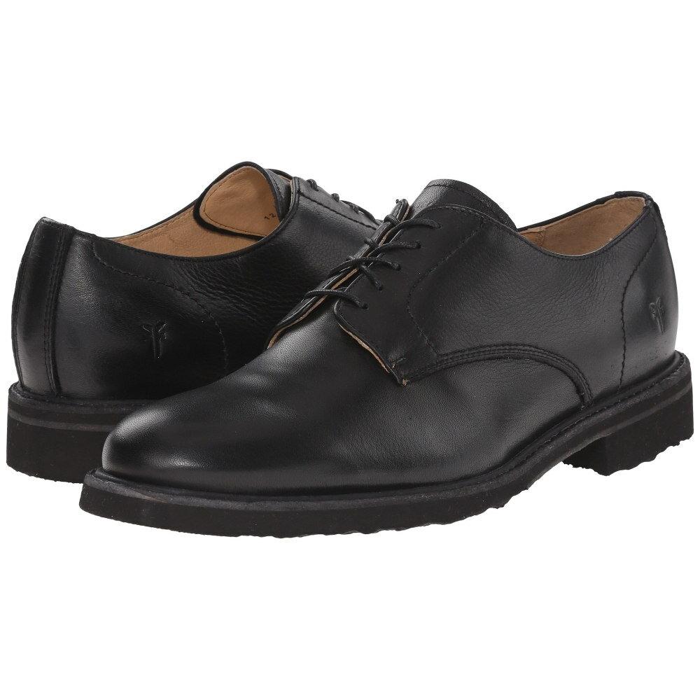 フライ メンズ シューズ・靴 革靴・ビジネスシューズ【Jim Oxford】Black Soft Vintage Leather