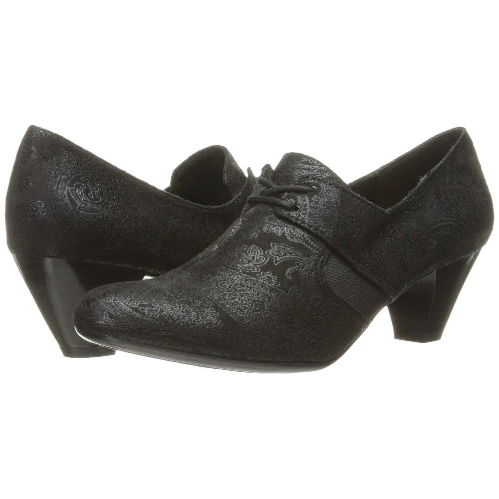 ソフトスタイル Soft Style レディース シューズ・靴 パンプス【Gretel】Black Paisley Faux Suede