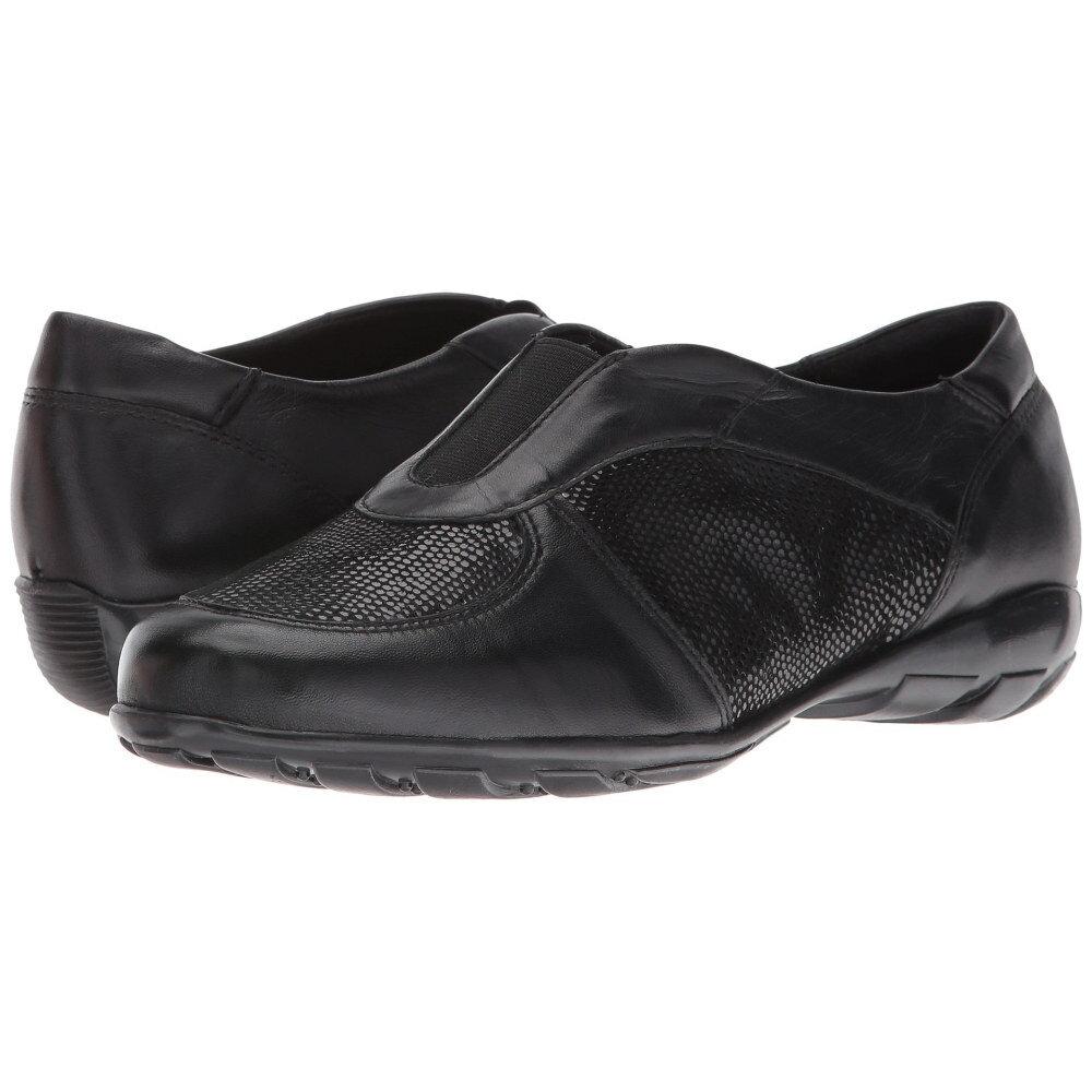ヴァネリ Vaneli レディース シューズ・靴 フラット【Aimee】Black E-Print/Black Nappa