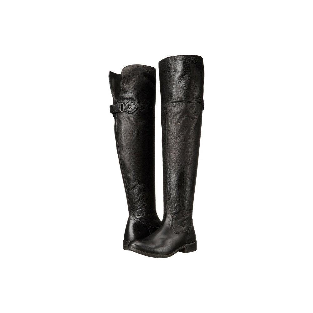 フライ レディース シューズ・靴 ブーツ【Shirley Over-The-Knee Wide】Black Smooth Vintage Leather Extended