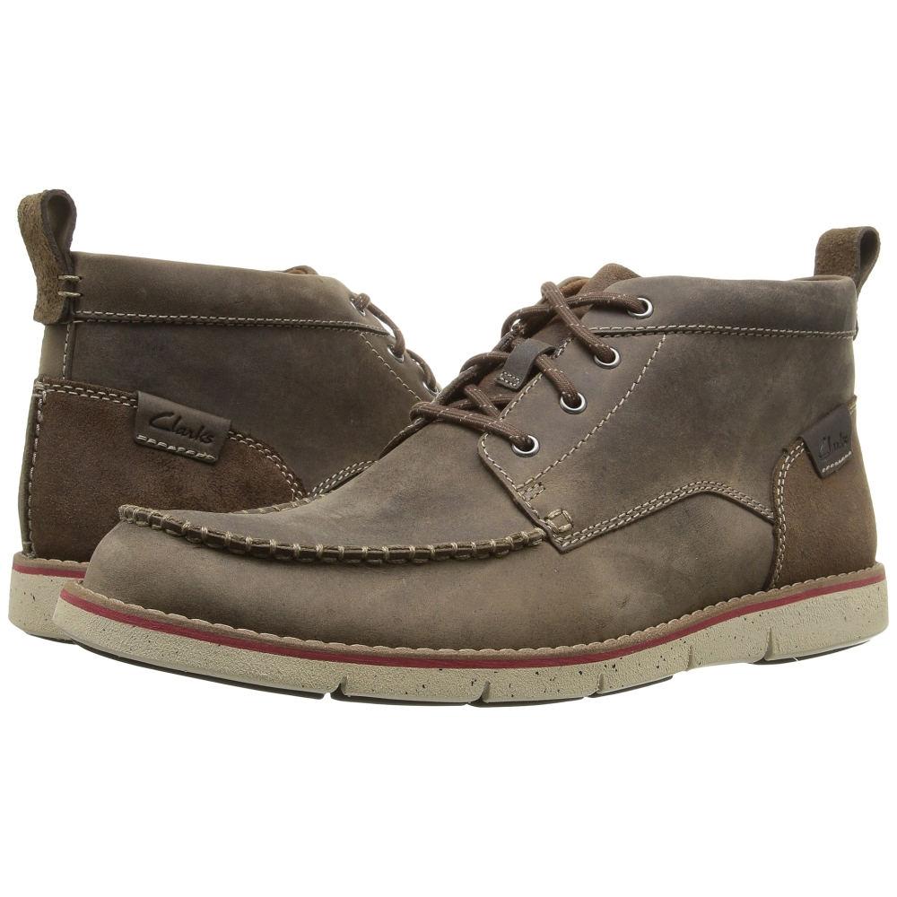 クラークス Clarks メンズ シューズ・靴 ブーツ【Kyston Mid】Mushroom Nubuck