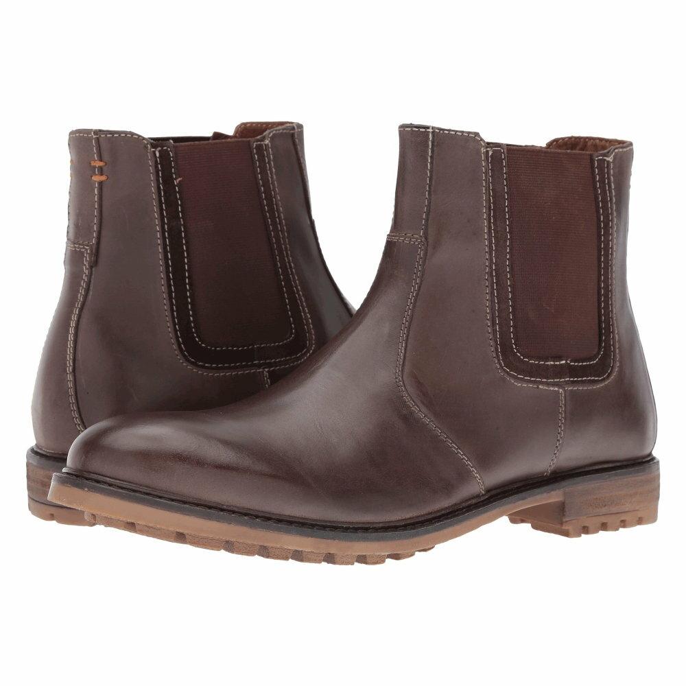 ハッシュパピー Hush Puppies メンズ シューズ・靴 ブーツ【Beck Rigby】Dark Brown Leather