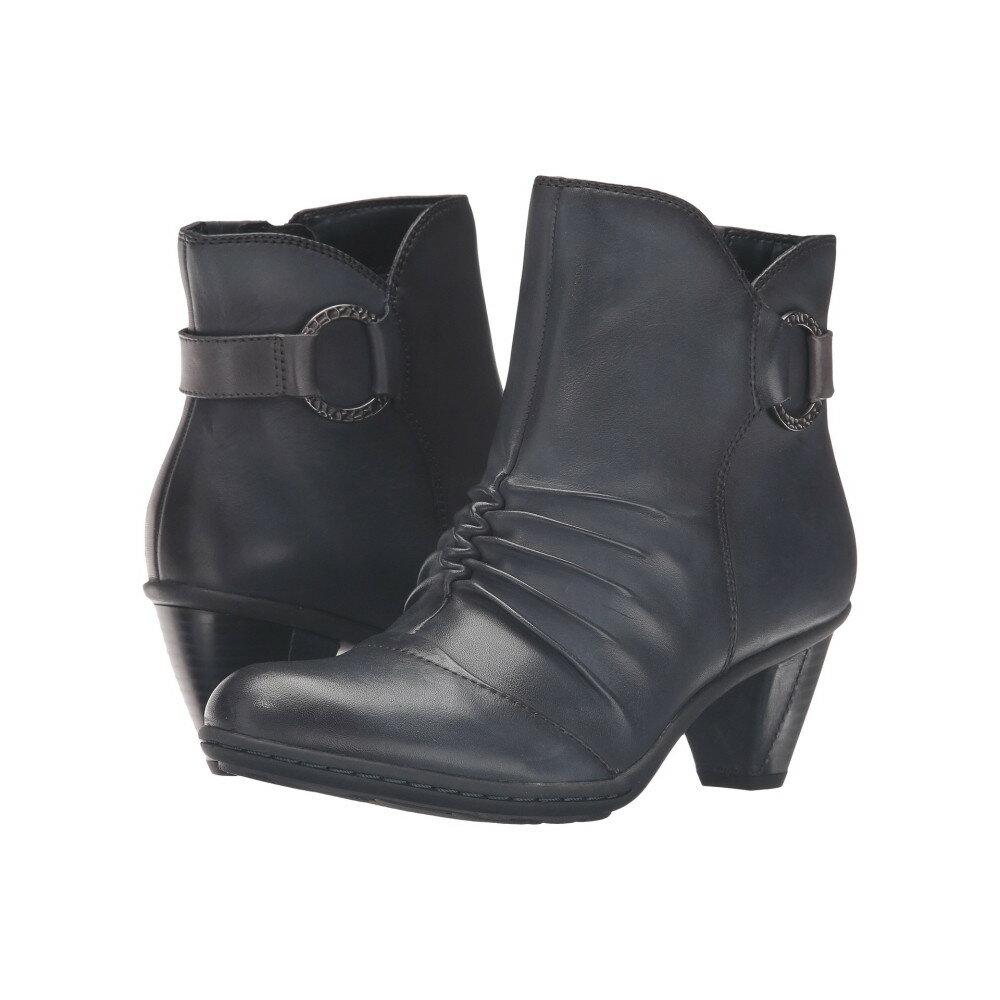 カルソーアースシューズ レディース シューズ・靴 ブーツ【Topaz】Navy Full Grain Leather