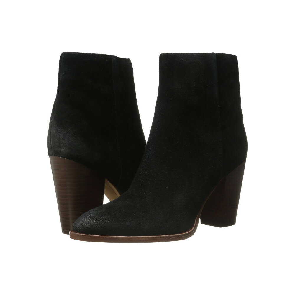 サム エデルマン レディース シューズ・靴 ブーツ【Blake】Black Velour Suede Leather