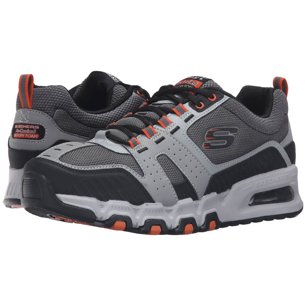 スケッチャーズ メンズ シューズ・靴 スニーカー【G-Force Air】Gray/Orange