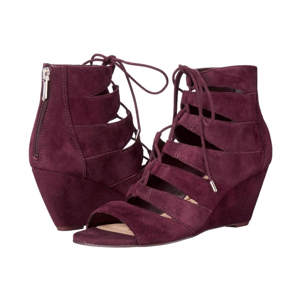 2013 の最新作 が サム エデルマン レディース シューズ・靴 サンダル・ミュール【Santina】Port Wine Kid Suede Leather