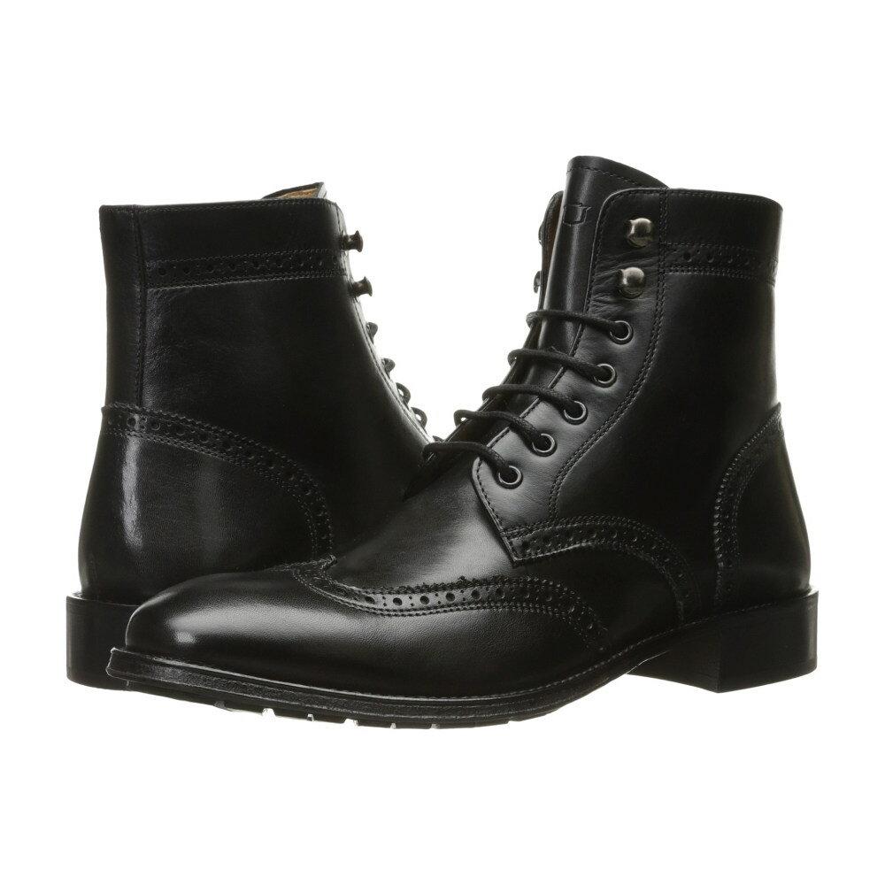 フローシャイム Florsheim メンズ シューズ・靴 ブーツ【Capital Wingtip Lace-Up Boot】Black Smooth