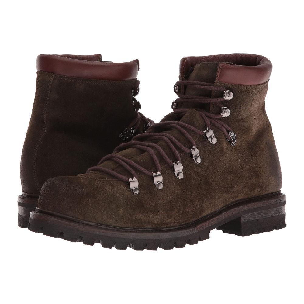 フライ メンズ シューズ・靴 ブーツ【Wyoming Hiker】Olive Waxed Suede