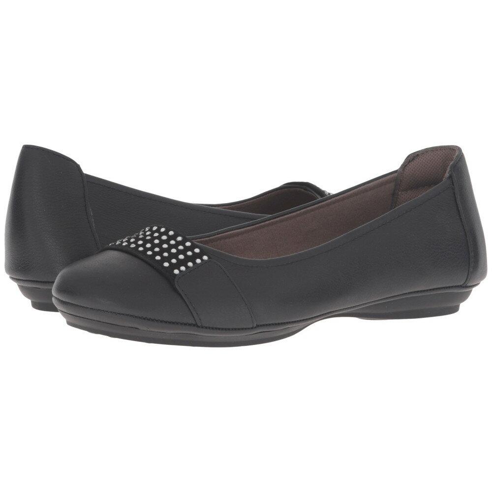 コンフォーティヴァ Comfortiva レディース シューズ?靴 フラット【Sallis】Black
