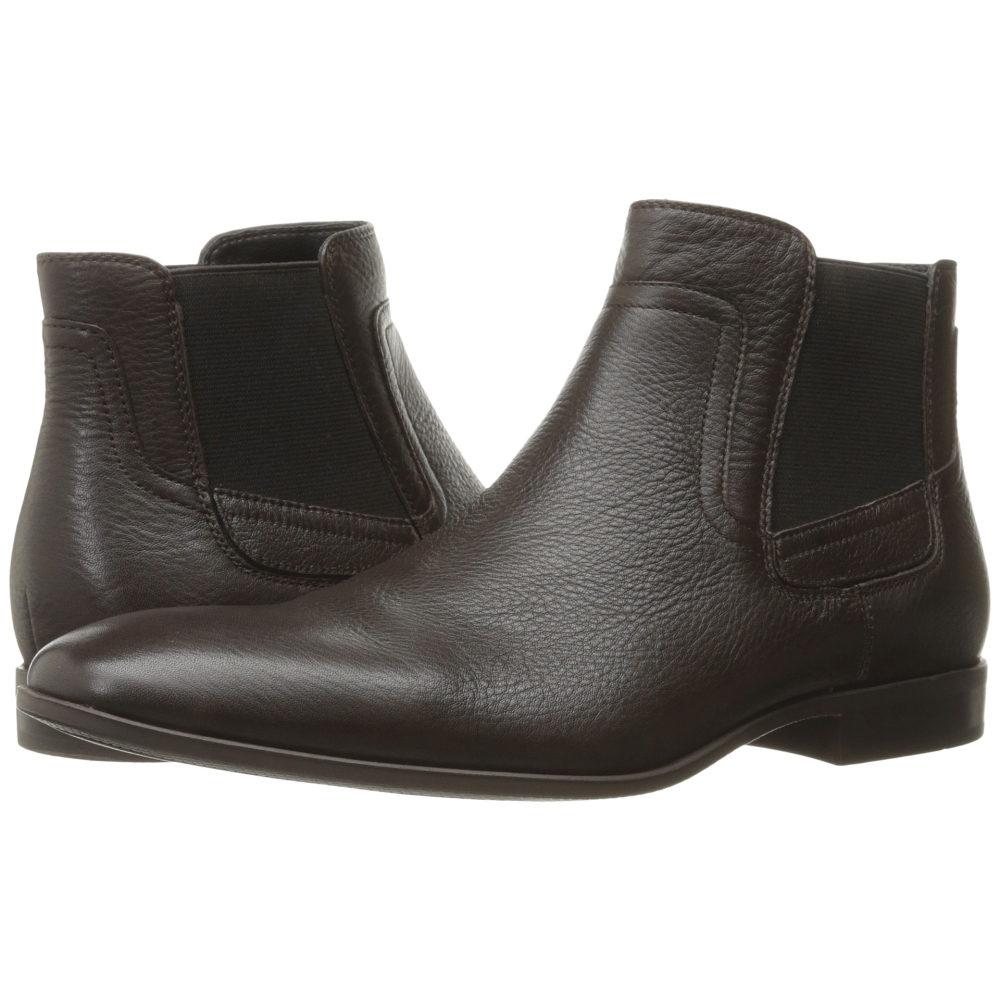 カルバンクライン Calvin Klein メンズ シューズ・靴 ブーツ【Clarke】Dark Brown Tumbled Cow Leather