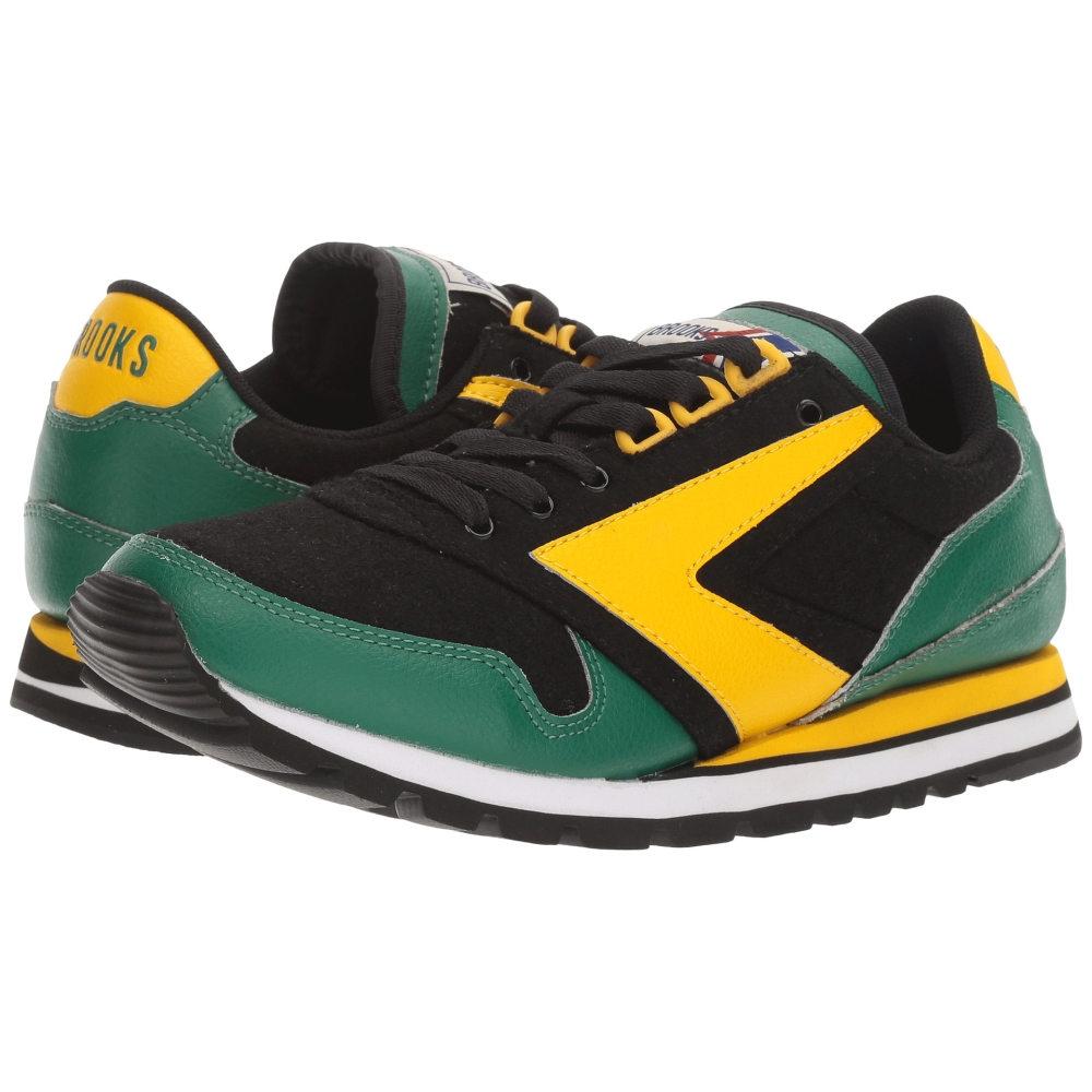 ブルックス Brooks Heritage レディース シューズ・靴 スニーカー【Chariot】Lemon Chrome/Verdant Green/Black