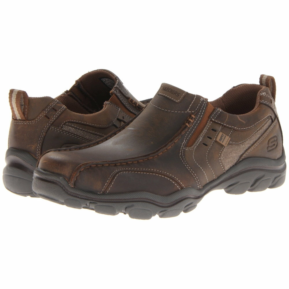 スケッチャーズ メンズ シューズ・靴 革靴・ビジネスシューズ【Relaxed Fit Montz - Konic】Dark Brown