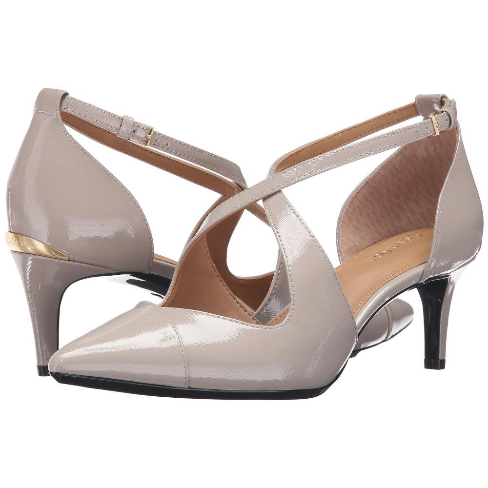 カルバンクライン Calvin Klein レディース シューズ・靴 パンプス【Pamette】Clay Saffiano