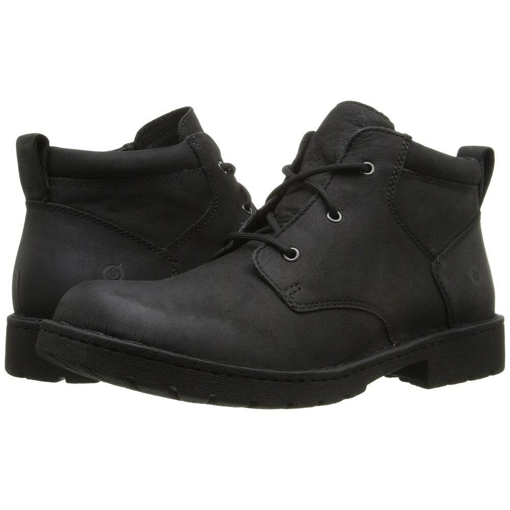 ボーン Born メンズ シューズ・靴 ブーツ【Fulton】Black Full Grain Leather